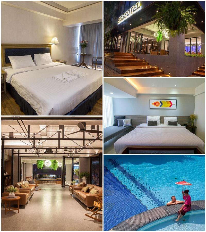โรงแรมบอสโซเทล เชียงใหม่ (Bossotel Chiang Mai Hotel)