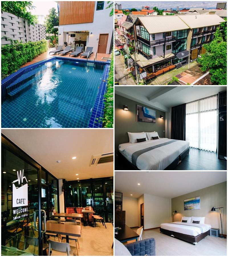 เวลท์ บูติก โฮเต็ล เชียงใหม่ (Wealth Boutique Hotel Chiang Mai)