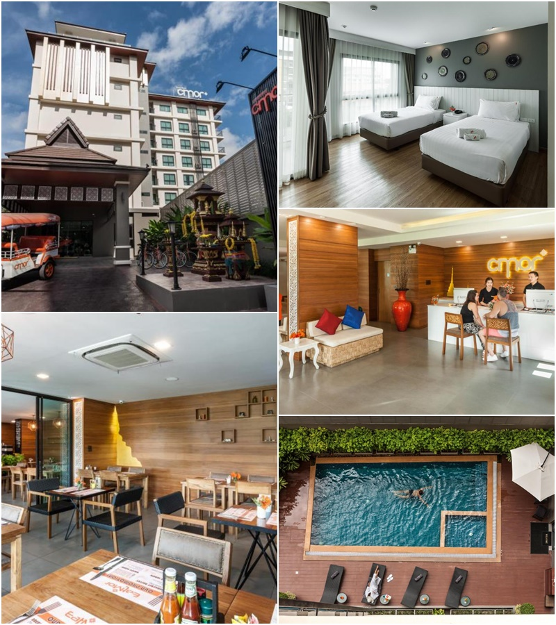 ซีมอร์ โฮเต็ล เชียงใหม่ บาย อันดาคูรา (Cmor Hotel Chiang Mai by Andacura)