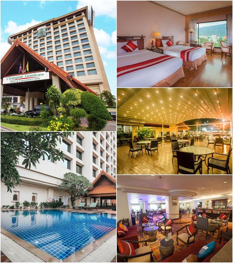 เชียงใหม่ แกรนด์วิว โฮเต็ล แอนด์ คอนเว็นชั่น เซ็นเตอร์ (Chiangmai Grandview Hotel & Convention Center)