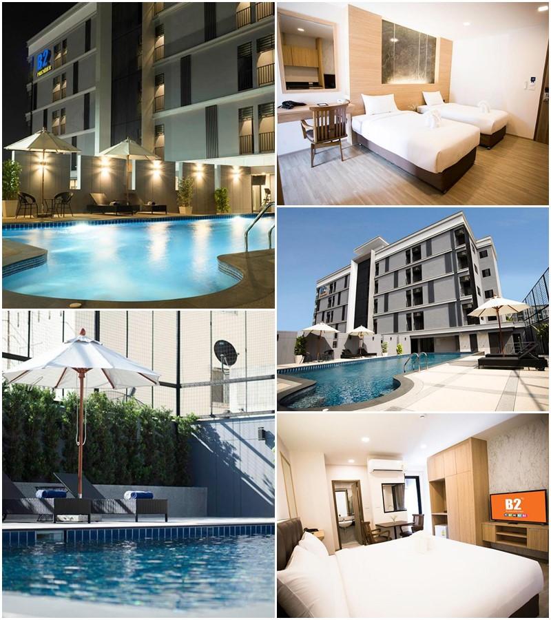 บีทู อมตะนคร พรีเมียร์ โฮเทล (B2 Amata Nakorn Premier Hotel)