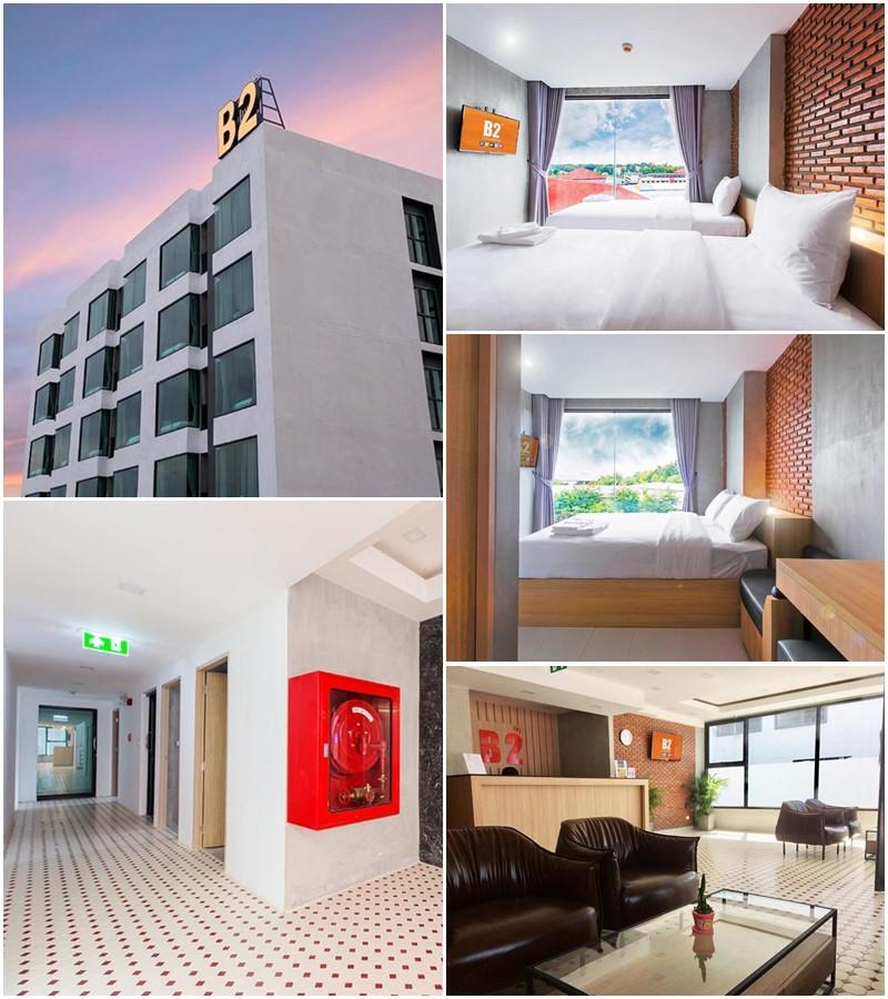 บีทู มุกดาหาร (B2 Mukdahan Boutique and Budget Hotel)