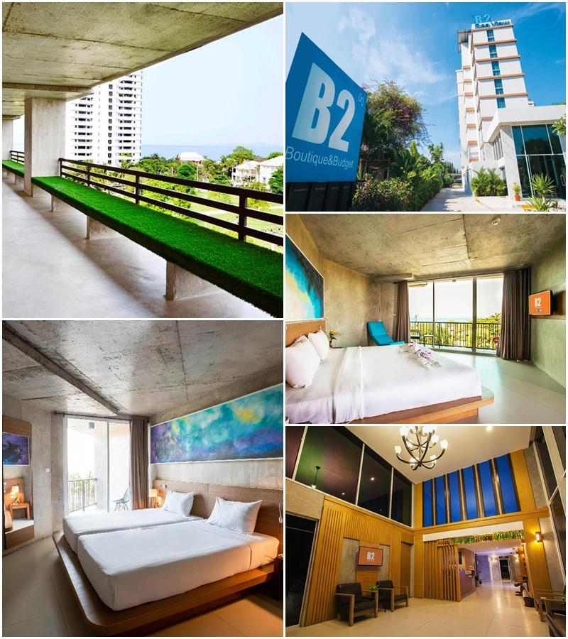 บีทู ซีวิว พัทยา โฮเต็ล (B2 Sea View Pattaya Hotel)