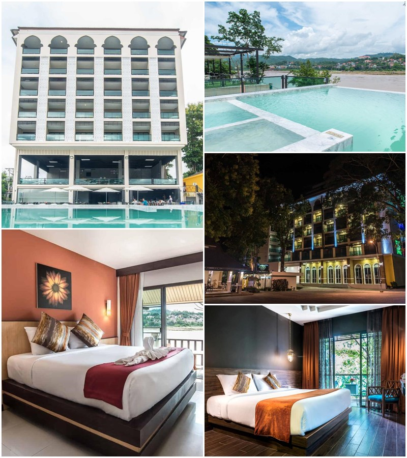 โรงแรมเชียงของ ทีค การ์เดน ริเวอร์ฟรอนต์ (Chiangkhong Teak Garden Riverfront Hotel)