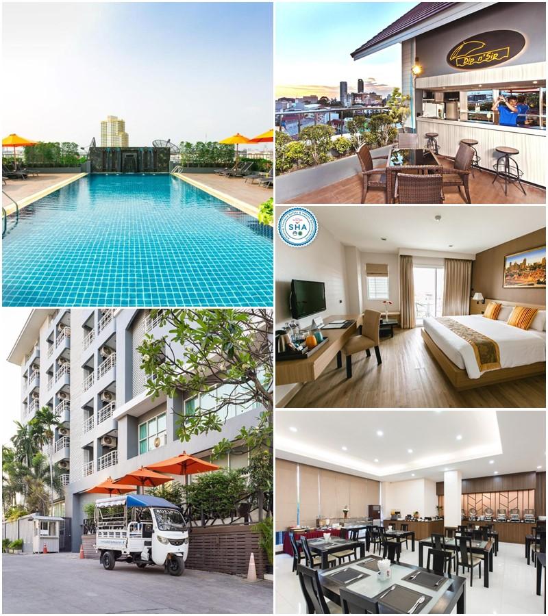 โรงแรมอเดลฟี พัทยา (Adelphi Pattaya Hotel)