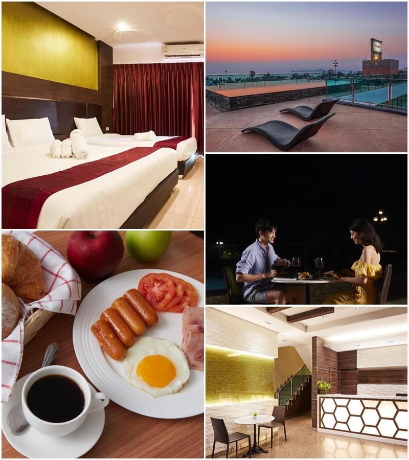 โรงแรมไทรบ์พัทยา (Tribe Hotel Pattaya)