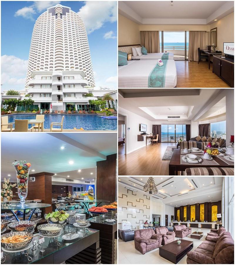 โรงแรมดี วารี จอมเทียน บีช พัทยา (D Varee Jomtien Beach Pattaya Hotel)