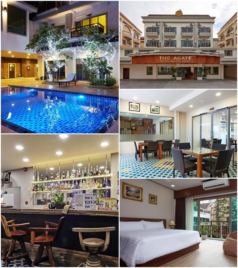 ดิ อาเกต พัทยา บูทิก รีสอร์ต (The Agate Pattaya Boutique Resort)