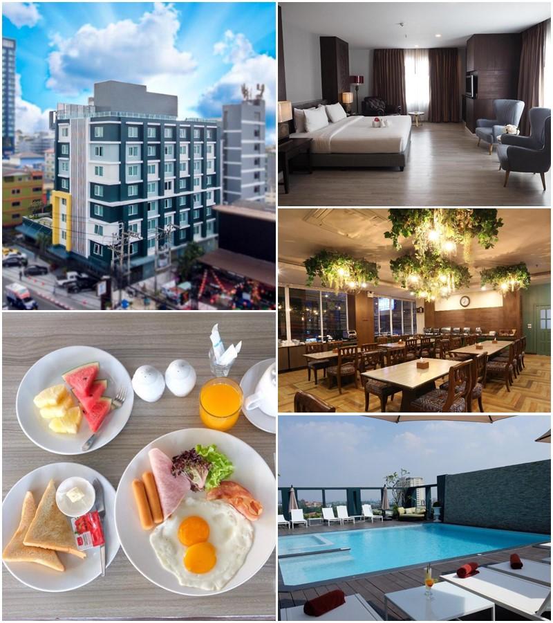 โรงแรมเอ็มเพรส พัทยา (Empress Pattaya Hotel)