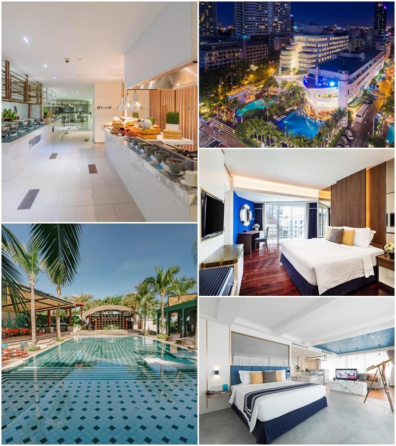 โรงแรมเอ-วัน เดอะ รอยัล ครูส พัทยา (A-One The Royal Cruise Hotel Pattaya)