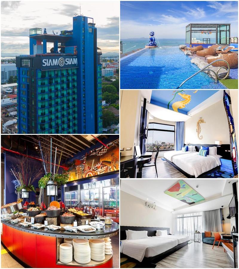 สยาม แอท สยาม ดีไซน์ โฮเต็ล พัทยา (Siam @ Siam Design Hotel Pattaya)
