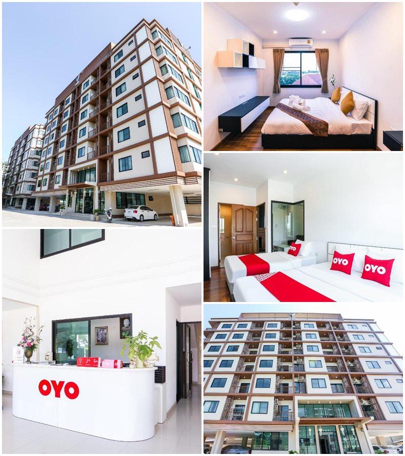 โอโย 338 V-ทวิน ดอนจัน เซอร์วิซ อพาร์ตเมนต์ (OYO 338 V-Twin Donjan Service Apartment)