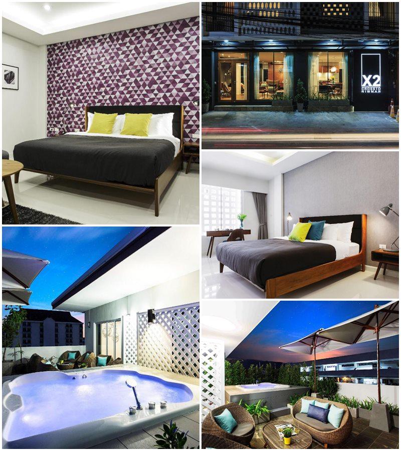 โรงแรมครอสทู เชียงใหม่ นิมมาน วิลล่า (X2 Chiang Mai Nimman Villa)