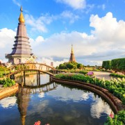 Doi Inthanon National Park Chiang Mai Day Tour King and Queen Pagoda