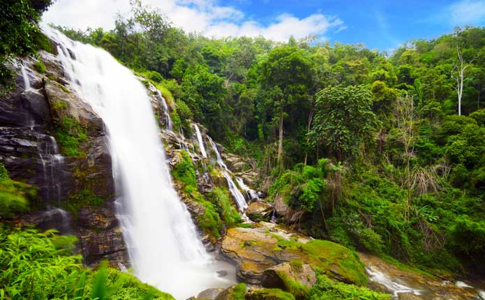 Doi Inthanon National Park Chiang Mai Day Tour Waterfall