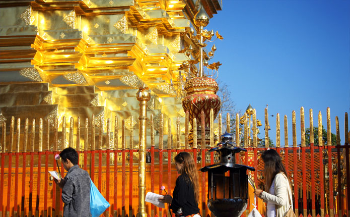 Doi Suthep Temple and Bhubing Palace Tour from Chiang Mai