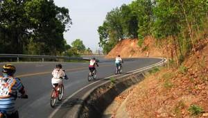 Chiang Mai Mountain Biking Above Chiang Mai
