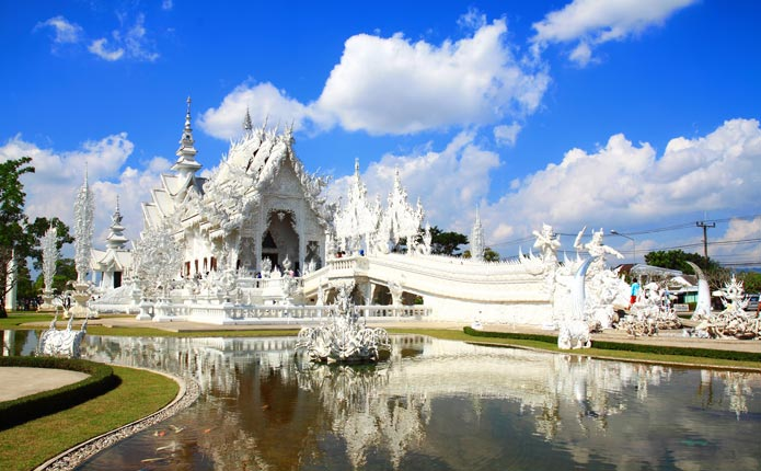 White Temple And Golden Triangle One Day Tour Chiang Rai