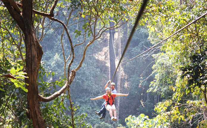 Eagle Track Zipline Adventure Tour Maerim Chiang Mai