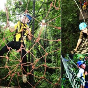 Eagle Track Zipline Adventure Chiang Mai Tackle Spider Web