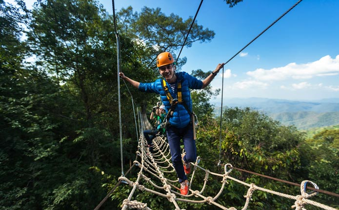 Jungle Flight Zipline Chiang Mai Hilltribe Village