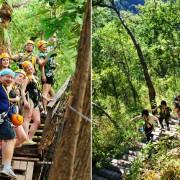 Jungle Flight Zipline Sky Bridge Chiang Mai