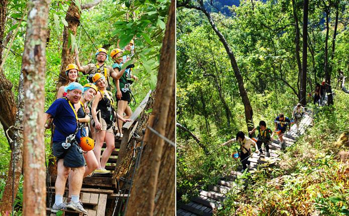 Jungle Flight Zipline Adventure Tour From Chiang Mai