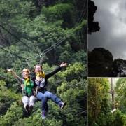 Jungle Flight Zipline Treetop Chiang Mai