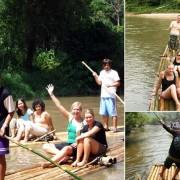 Chiang Mai Trekking Adventure Bamboo Rafting