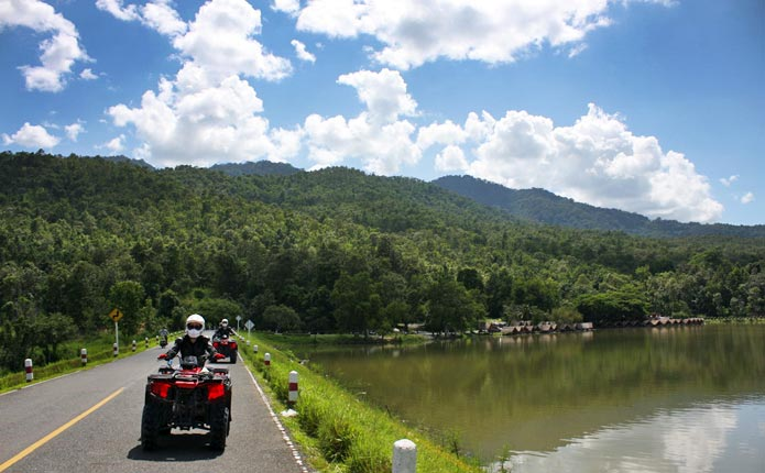 Chiang Mai Maerim ATV Jungle Adventure