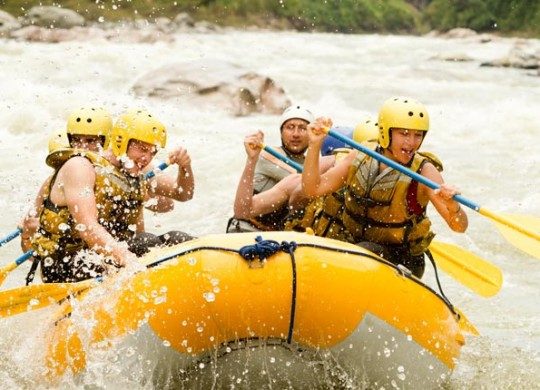 White Water Rafting Adventure Chiangmai